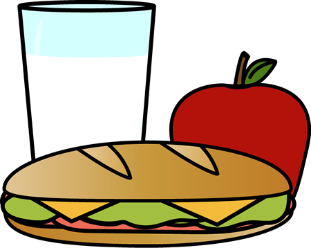 Clipart lunch food clipart clipart black and white stock Clipart lunch food clipart - ClipartFox clipart black and white stock