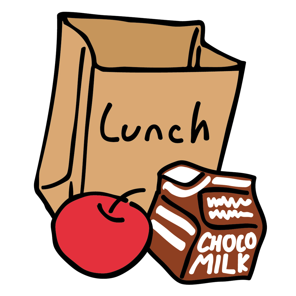 Clipart lunch room clip art black and white download Lunch room clipart 1 » Clipart Station clip art black and white download