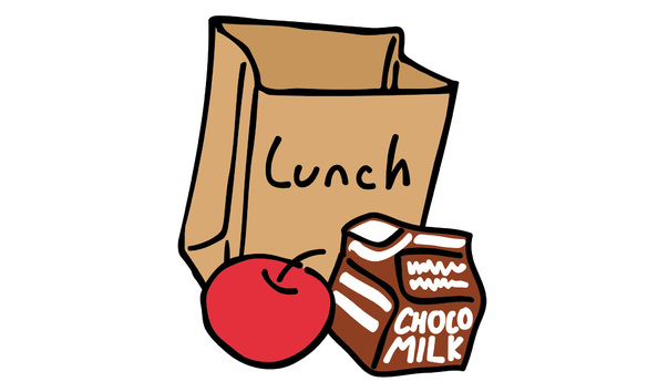 Clipart lunch with the teacher clip transparent Lunch with Ms. Pomerenke - for 2 students clip transparent