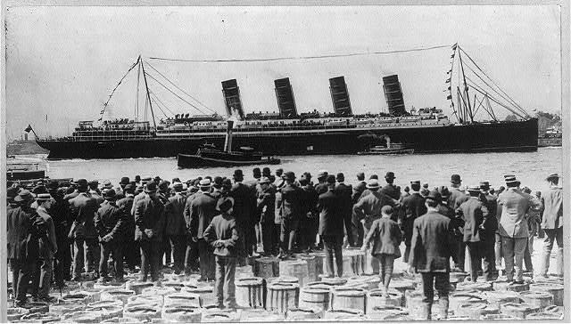 Clipart lusitania