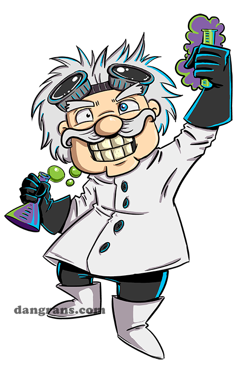 Clipart mad money banner black and white stock mad scientist cartoon images | Mad Scientist's Lab by dsoloud ... banner black and white stock