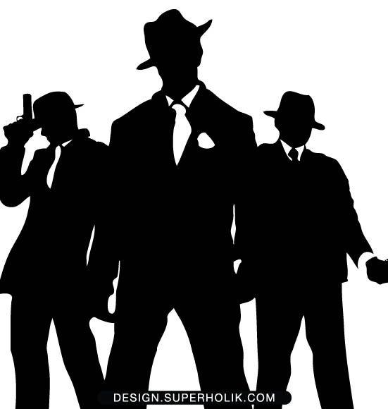 Free mafia clipart. Clip art gangster product