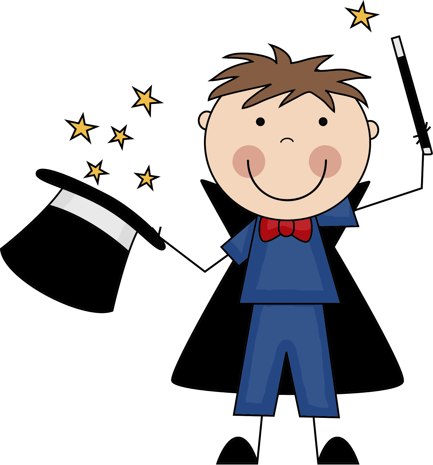 Clipart magic free Students transition smoothly with the magic word trick | Classroom ... free