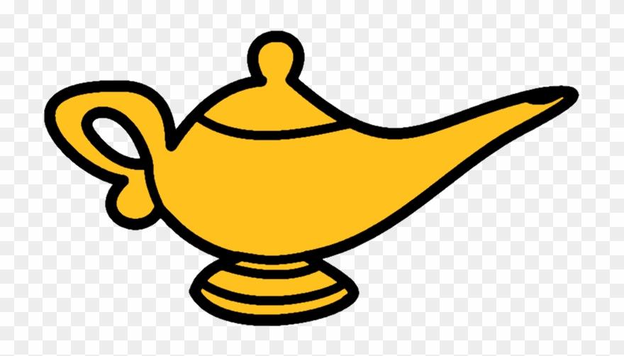 Clipart magic lamp svg free stock Oil Lamp Clipart Aladdin\'s Lamp - Cartoon Genie Lamp Png Transparent ... svg free stock