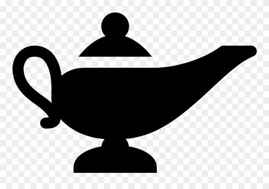 Clipart magic lamp picture royalty free download Lampe Magique Icon - Magic Lamp Icon Clipart (#1859404) - PinClipart picture royalty free download
