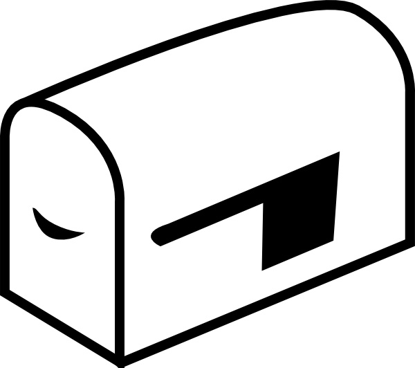 Clipart mailboxes picture library library Mailbox clip art Free vector in Open office drawing svg ( .svg ... picture library library