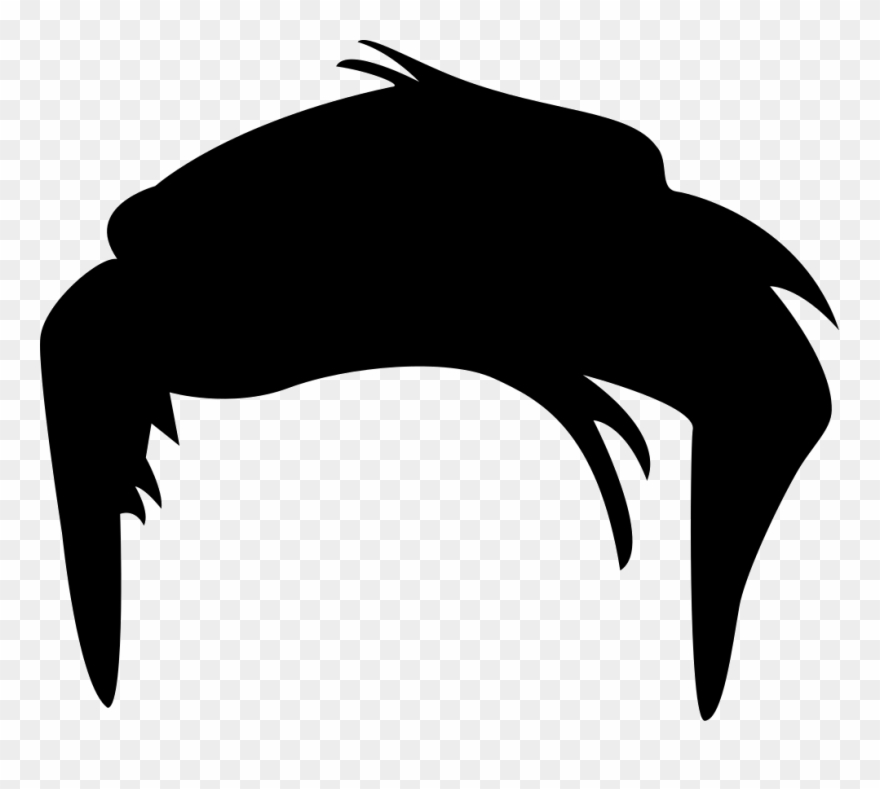 Hair clipart png png black and white download No Classes For Students Tomorrow- School Goals Meeting - Male Hair ... png black and white download