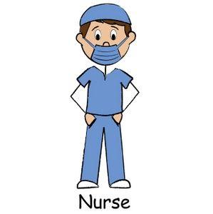 Clipart male nurse image free stock Male nurse clipart | Medical Doctor Nurse Cookies | Nurse clip art ... image free stock