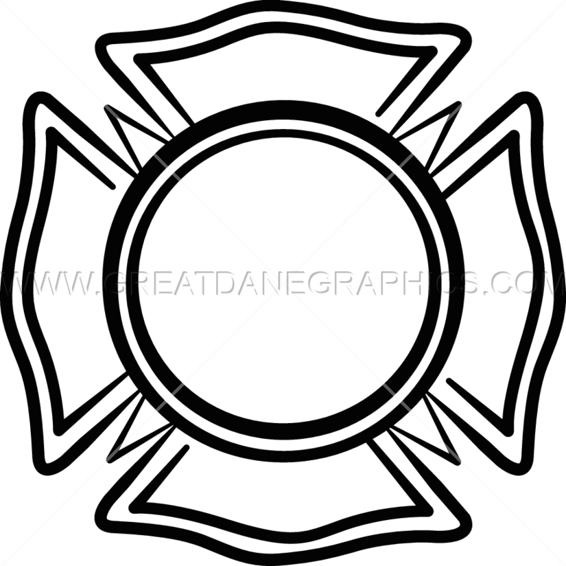 Free clipart maltese cross picture library stock Emergency Maltese Cross | Production Ready Artwork for T-Shirt Printing picture library stock