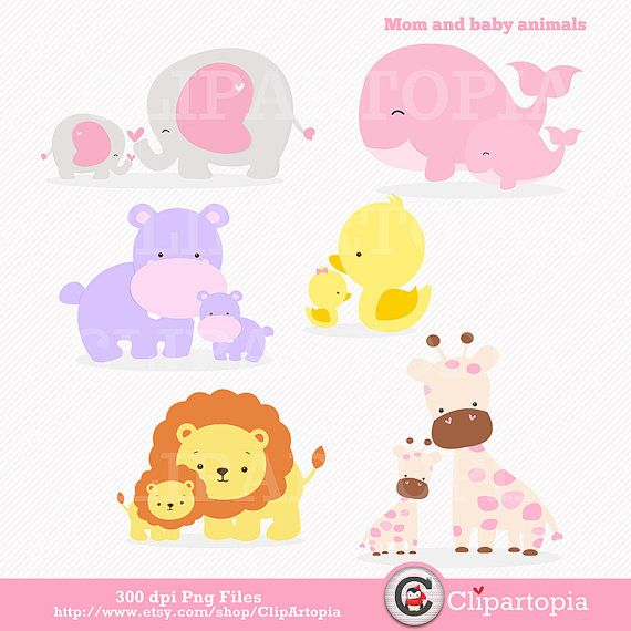 Clipart mama baby girl. Clipartfest mom and animal