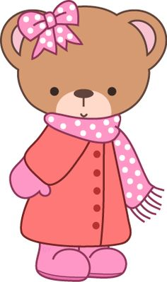 Clipartfest free winter bear. Clipart mama baby girl