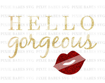 Clipart mama baby girl. Clipartfox hello gorgeous svg