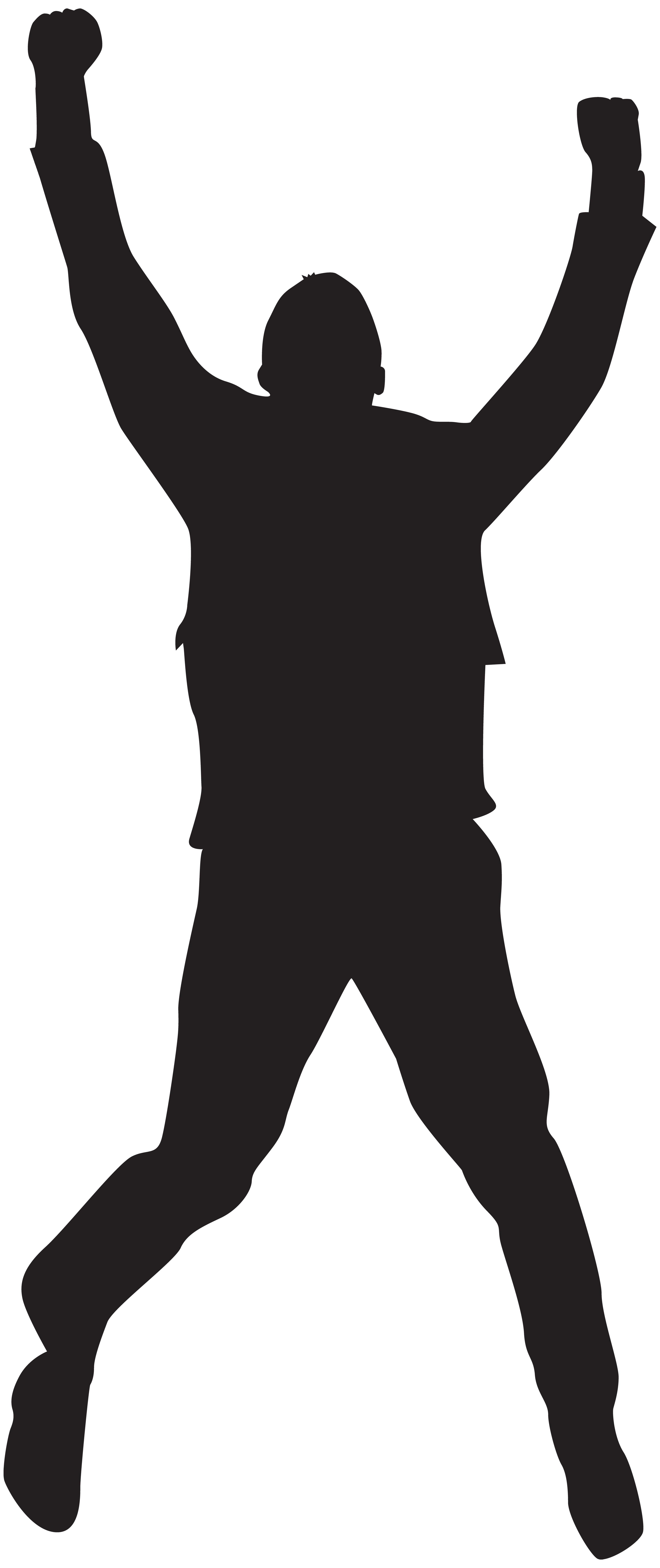 Clipart man jumping jpg library Jumping Happy Man Silhouette PNG Clip Art Image | Gallery ... jpg library