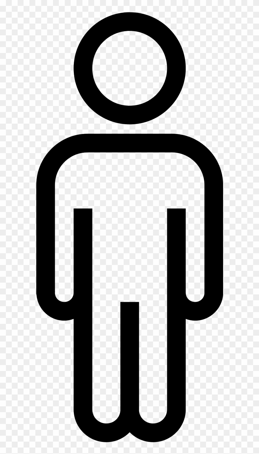 Man icon clipart banner free stock Person Outline Png - Man Icon Clipart (#586556) - PinClipart banner free stock