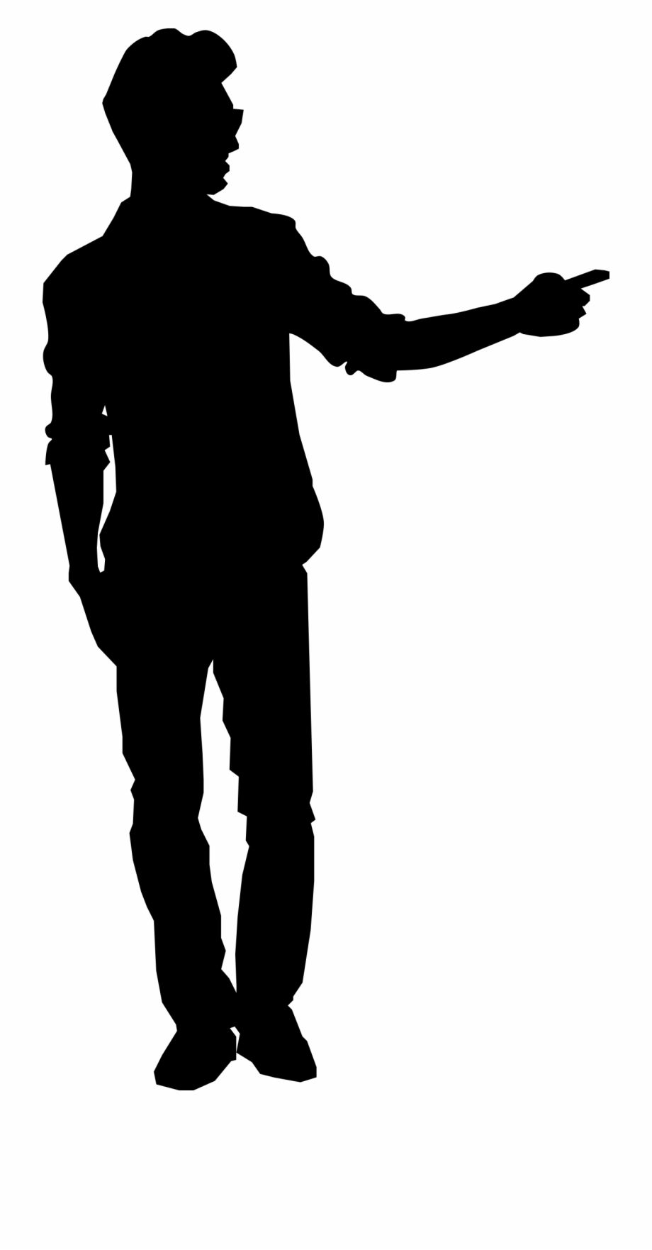 Black men silhoutte clipart clip art free download Man Pointing Silhouette Clipart Png - Man Pointing Silhouette Png ... clip art free download