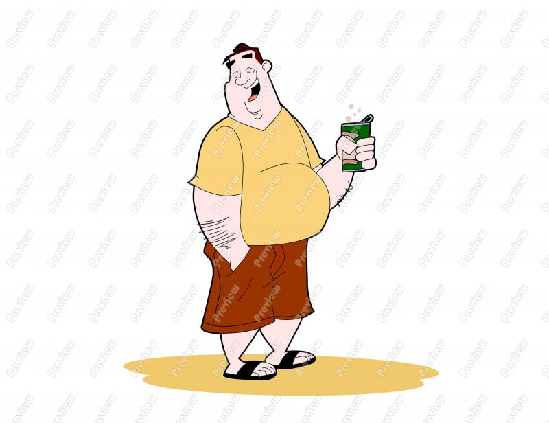 Clipart man with big belly svg transparent Beer Belly Clipart - Clipart Kid svg transparent