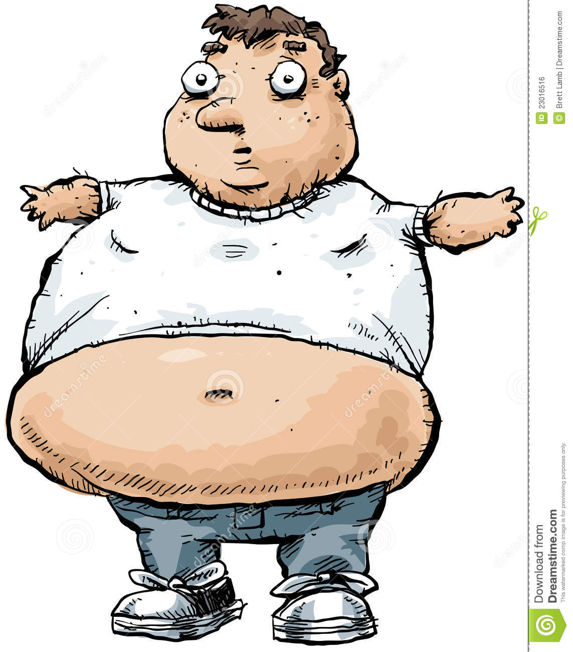 Clipart man with big belly vector library library Fat Man Cartoon Clipart - Clipart Kid vector library library