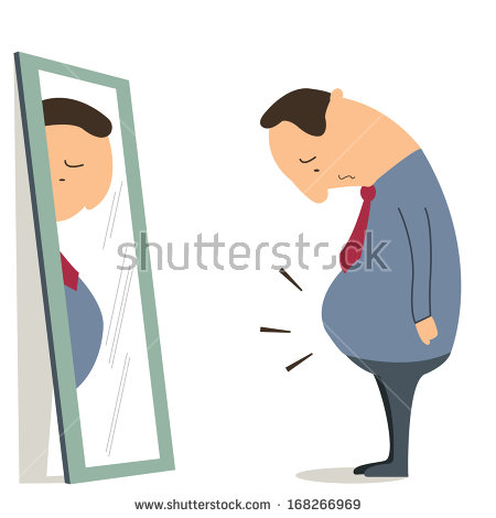 Clipart man with big belly banner freeuse stock Fat Man Belly Stock Images, Royalty-Free Images & Vectors ... banner freeuse stock