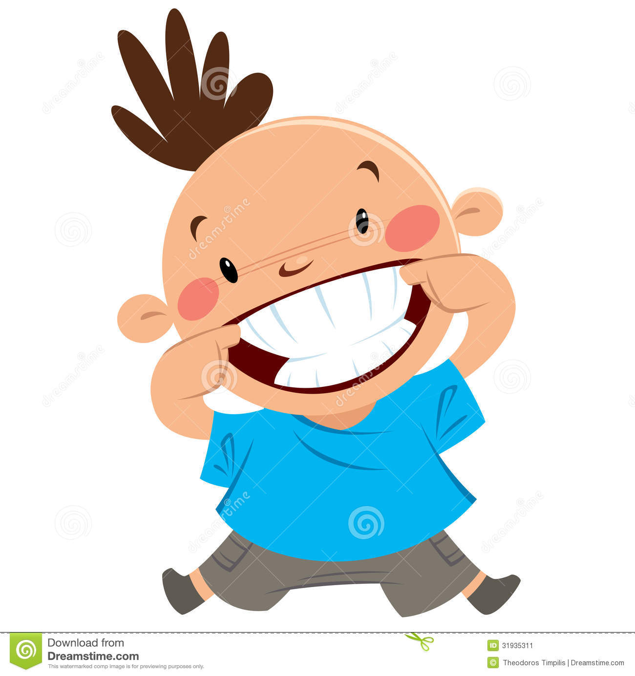 Clipart man with big smile png library download Clipart man with big smile - ClipartFest png library download