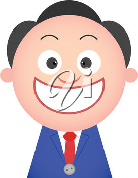Clipart man with big smile picture Clipart Illustration of a Smiling Man picture