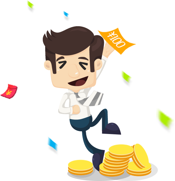 Clipart man with money eyes clip library download Cartoon business man money 581*601 transprent Png Free Download ... clip library download