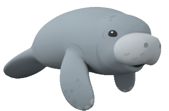 Manitee clipart vector freeuse download Manatee clipart download - WikiClipArt vector freeuse download