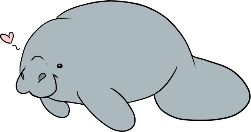 Cute manatee clipart clipart download 32+ Manatee Clipart | ClipartLook clipart download