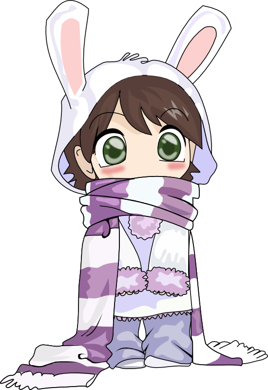 Clipart manga gratuit. Anime and clipartfox girl