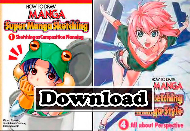Clipart manga pdf graphic royalty free library Download: How to Draw Manga Sketching (Manga-Style) - Completo PDF ... graphic royalty free library