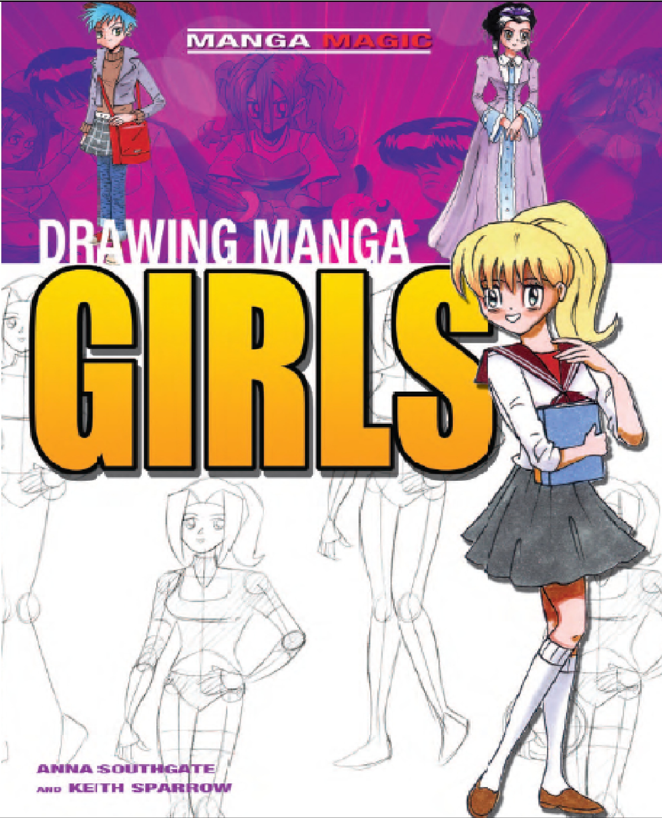 Clipart manga pdf svg freeuse download Drawing Manga Girls for beginners by kayanimeproductions on DeviantArt svg freeuse download