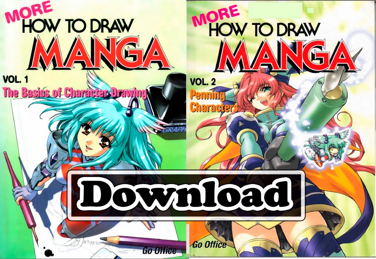 Clipart manga pdf picture royalty free library Download - More How to Draw Manga Series (PDF) - YouTube picture royalty free library