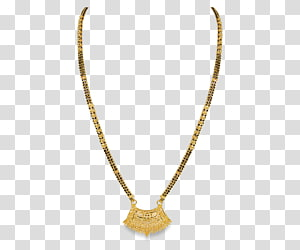Clipart mangalsutra chain clip freeuse stock Necklace Jewellery chain Gold, necklace transparent background PNG ... clip freeuse stock