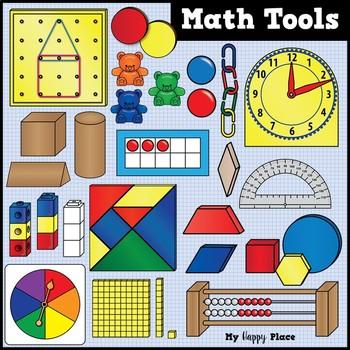 Clipart manipulatives clip art free Math Tools and Manipulatives Clip Art - Huge Set! by My Happy Place clip art free