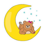 Clipart mann im mond clip art freeuse download Vector Clip Art of bear lying on the moon - bear lying on the moon ... clip art freeuse download
