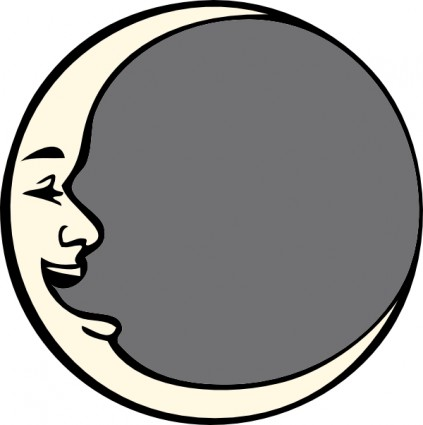 Clipart mann im mond png library stock Clipart mann im mond - ClipartFest png library stock