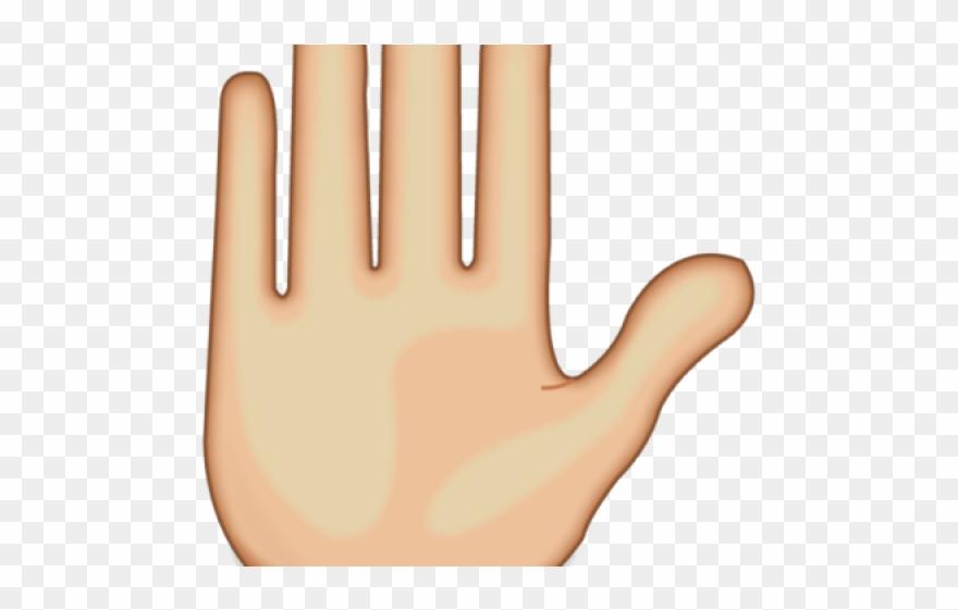 Clipart mano svg library stock Hand Emoji Clipart Right Hand - Emoji De La Mano - Png Download ... svg library stock