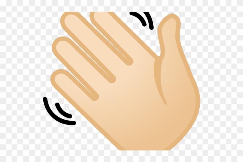 Clipart mano clip art Hand Emoji Clipart Wavy - Imagenes De Una Mano Saludando, HD Png ... clip art