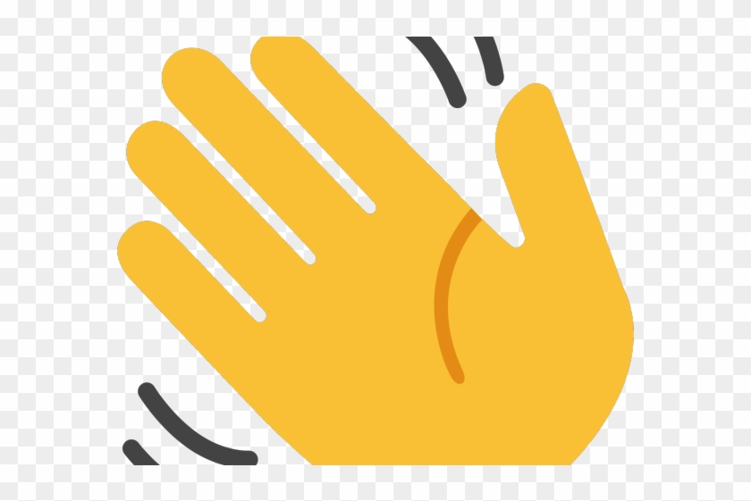 Clipart mano clipart download Hand Emoji Clipart Hello - Mano Che Saluta, HD Png Download ... clipart download