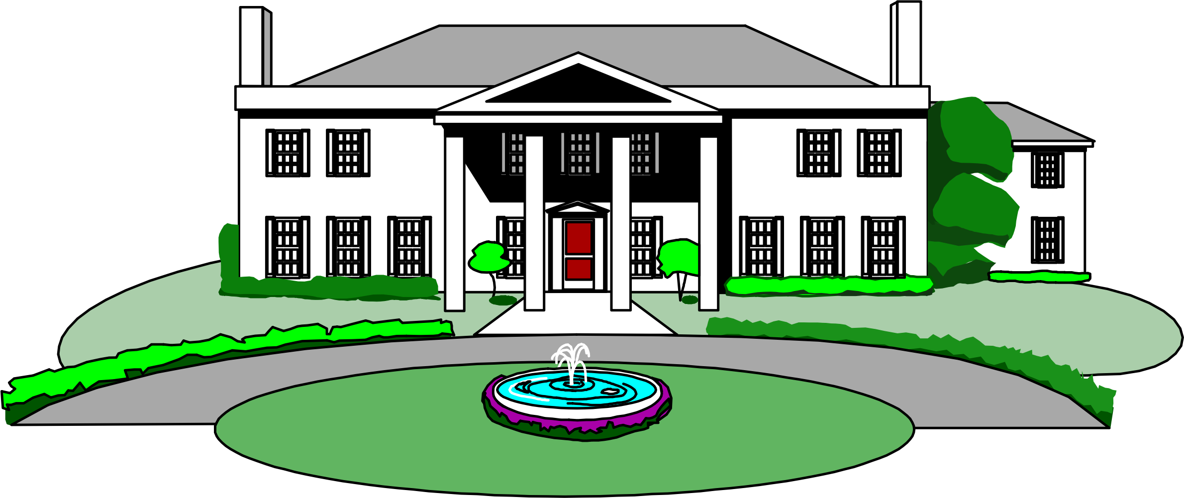 Clipart mansion house svg transparent library Clipart - mansion svg transparent library