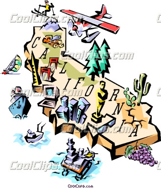 Clipart map of california image black and white library 1000+ images about California Cool on Pinterest | Models, Classic ... image black and white library
