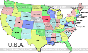 Clipart map of the united states clipart transparent Usa clipart map - ClipartFox clipart transparent