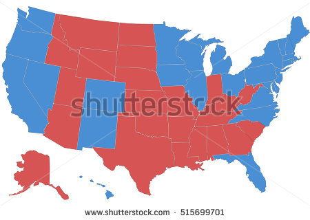 Vector Clip Art Map Usa All Stock Vector 18457597 - Shutterstock graphic transparent