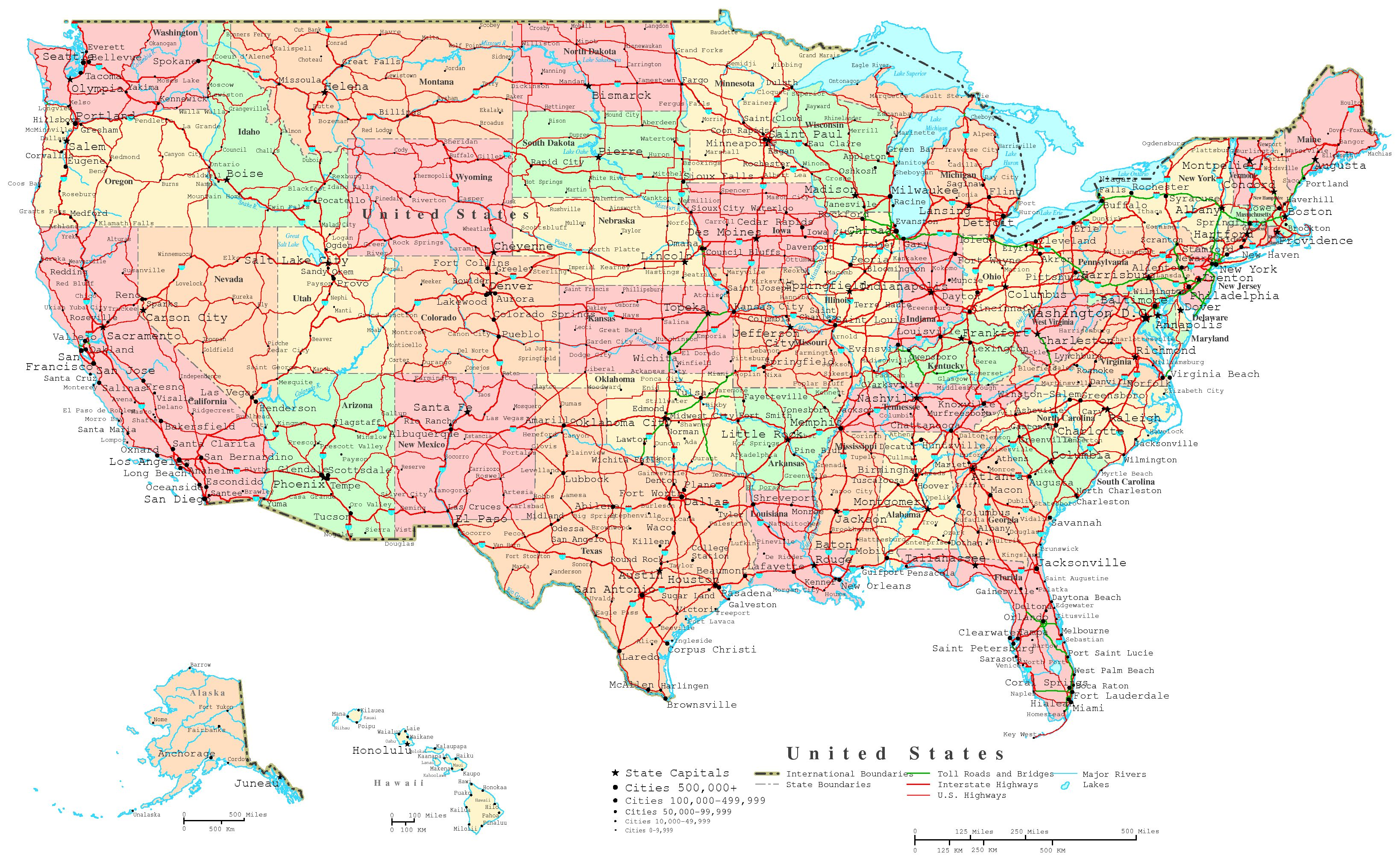 Clipart map of united states with interstates svg transparent stock US Road Map Clip Art – Clipart Free Download svg transparent stock