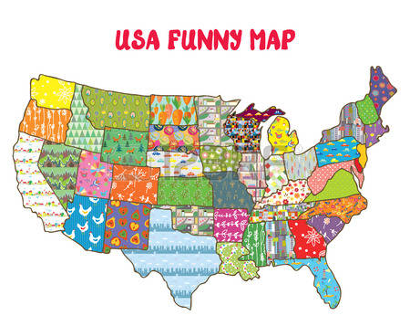 Clipart map of us freeuse download 1,004 Road Map United States Stock Illustrations, Cliparts And ... freeuse download