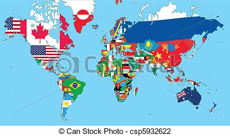 Clipart map world picture black and white download Clipart map world - ClipartFest picture black and white download