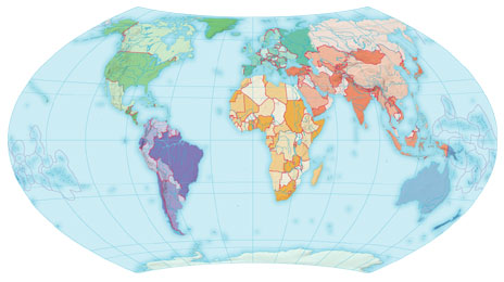 Clipart map world jpg free stock Clipart map of world - ClipartFest jpg free stock