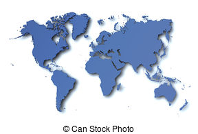 Clipart map world freeuse World map Clipart and Stock Illustrations. 175,674 World map ... freeuse
