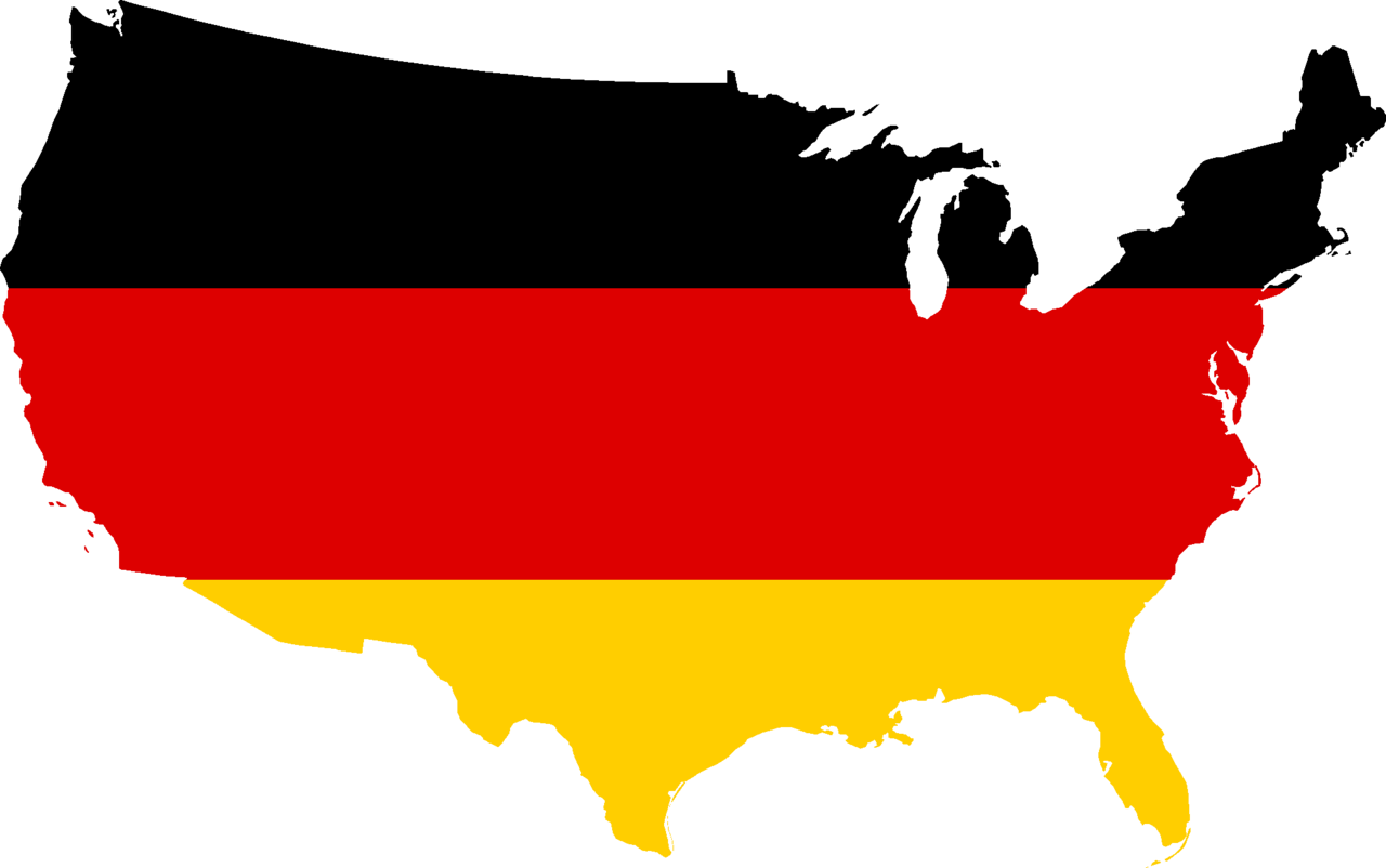 Clipart maps of the united states. File flag map germany