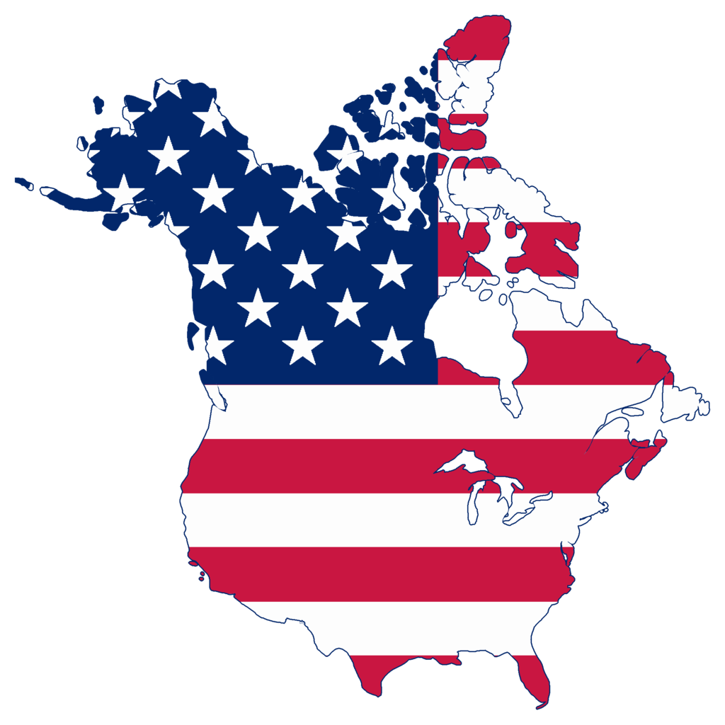 Clipart maps of the united states. File flag map canada
