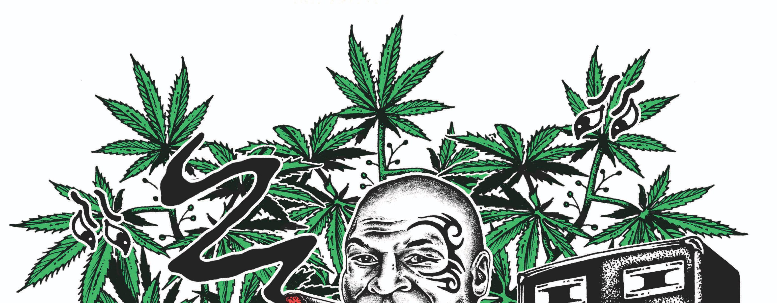 Clipart marajuana in an outdoor garden setting with hills picture download Mike Tyson\'s Weed Resort: The Former Champ Smokes the Toad | GQ picture download